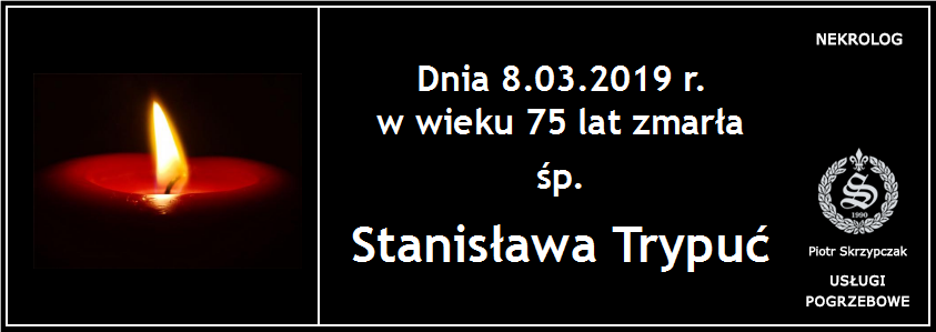 You are currently viewing Ś.P. Stanisława Trypuć