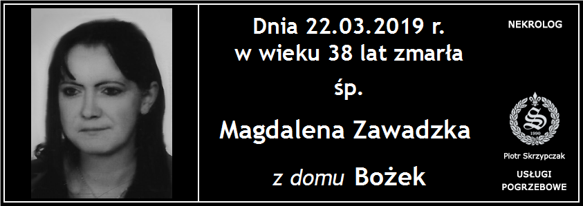 You are currently viewing Magdalena Zawadzka