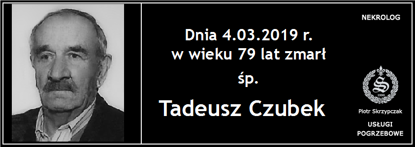 You are currently viewing Tadeusz Czubek