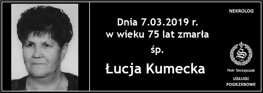 You are currently viewing Łucja Kumecka