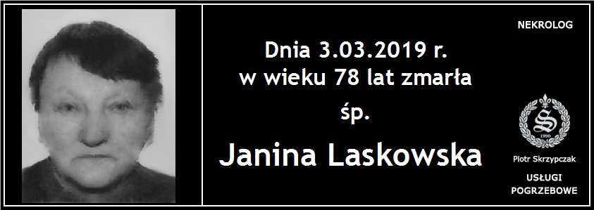 You are currently viewing Janina Laskowska
