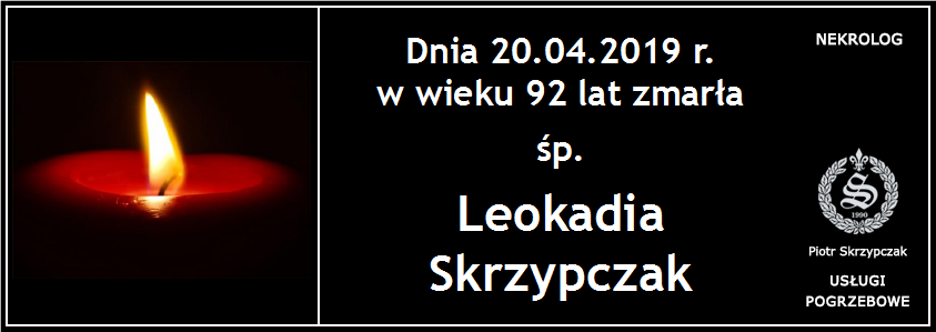 You are currently viewing Leokadia Skrzypczak