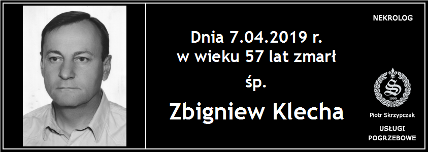 You are currently viewing Zbigniew Klecha