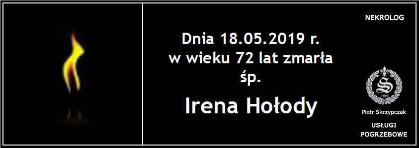 You are currently viewing Irena Hołody z domu Żurowska