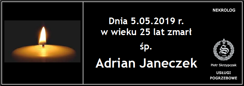 You are currently viewing Adrian Janeczek