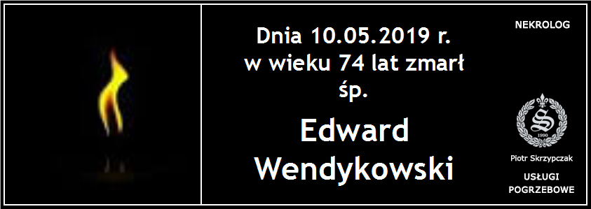 You are currently viewing Edward Wendykowski