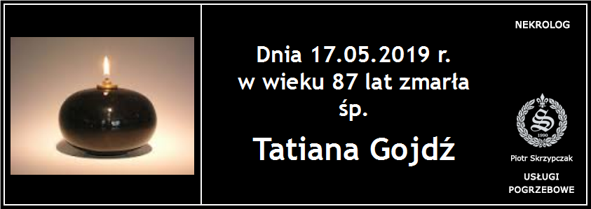 You are currently viewing Tatiana Gojdź