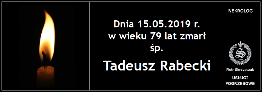 You are currently viewing Tadeusz Rabecki