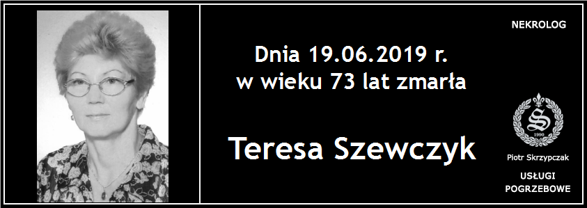 You are currently viewing Teresa Szewczyk