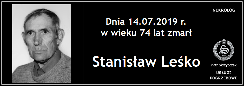 You are currently viewing Stanisław Leśko