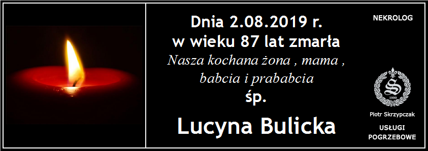 You are currently viewing Lucyna Bulicka