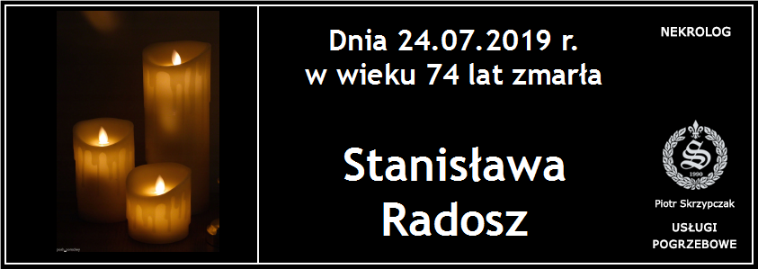 You are currently viewing Stanisława Radosz