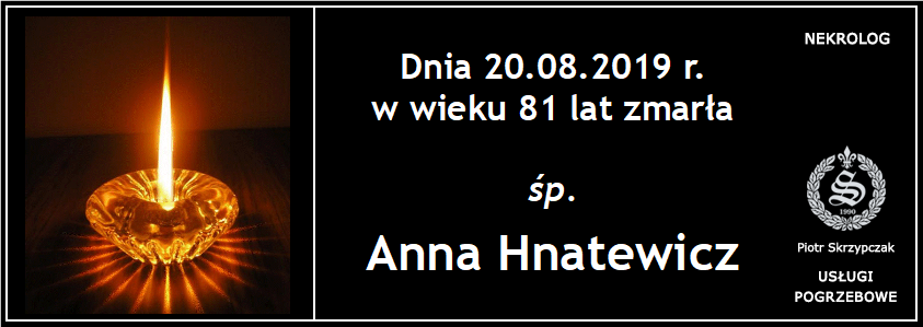You are currently viewing Anna Hnatewicz