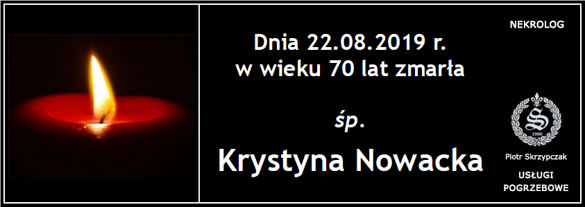You are currently viewing Krystyna Nowacka