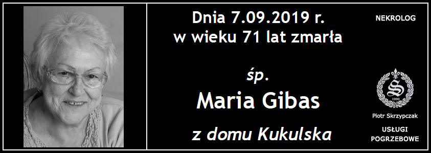 You are currently viewing Maria Gibas