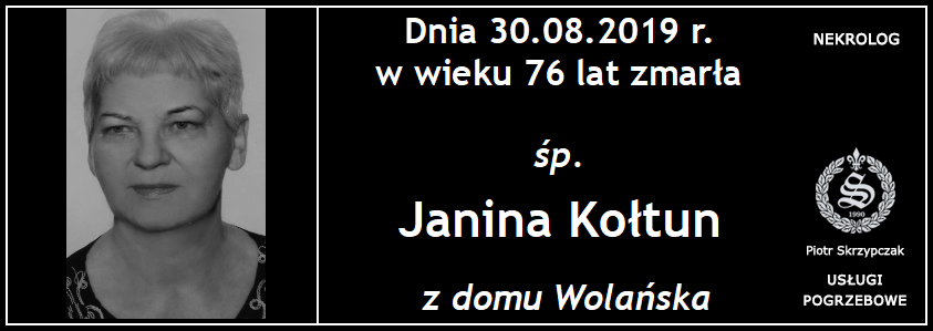 You are currently viewing Janina Kołtun