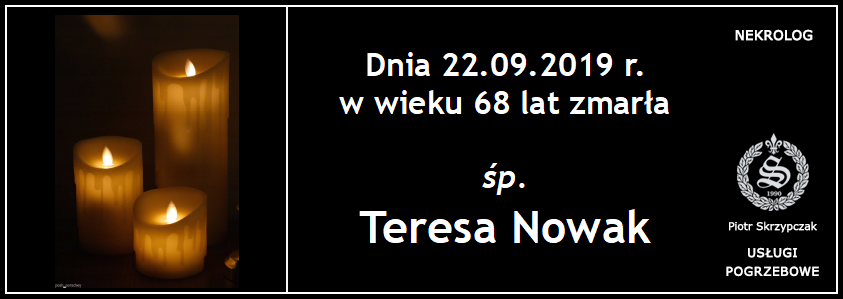 You are currently viewing Teresa Nowak
