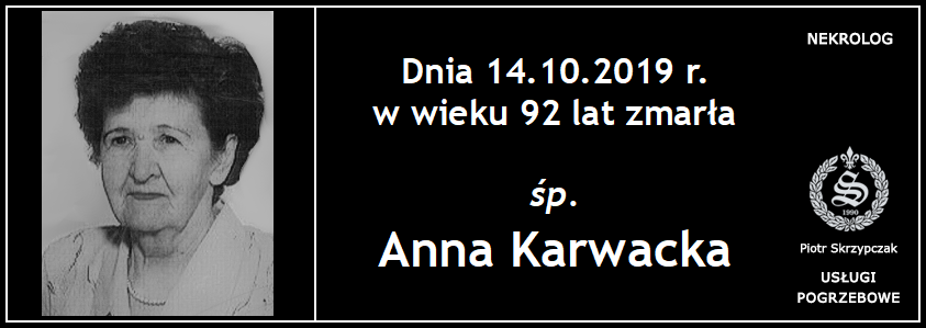 You are currently viewing Anna Karwacka