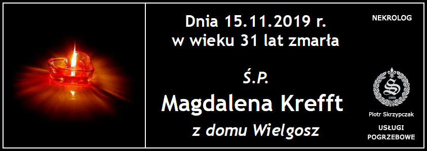 You are currently viewing Magdalena Krefft z domu Wielgosz