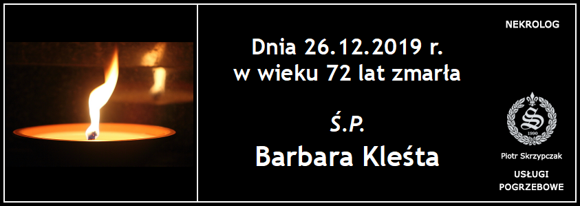 You are currently viewing Barbara Kleśta