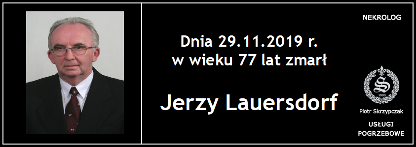 You are currently viewing Jerzy Lauersdorf