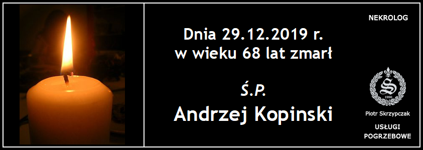 You are currently viewing Andrzej Kopinski