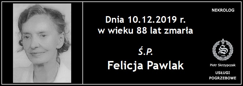 You are currently viewing Felicja Pawlak