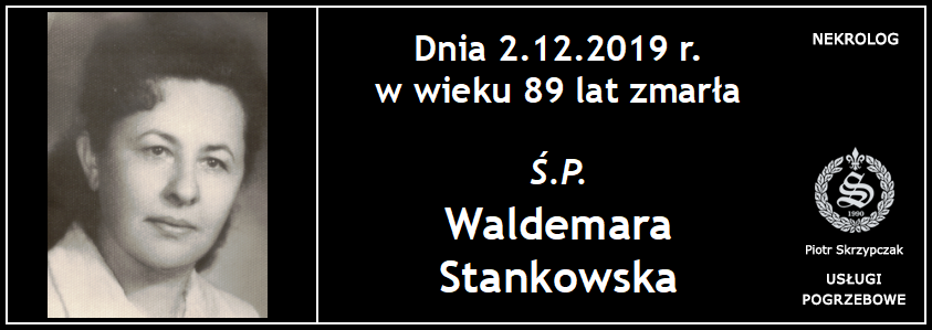 You are currently viewing Waldemara Stankowska