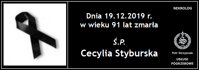 You are currently viewing Cecylia Styburska