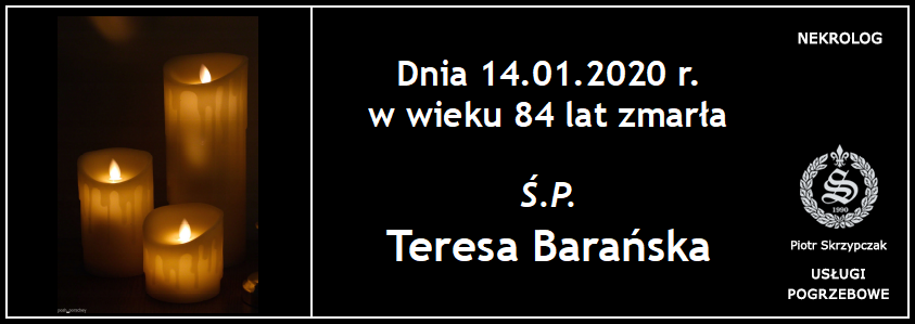 You are currently viewing Teresa Barańska