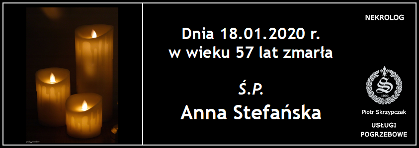 You are currently viewing Anna Stefańska