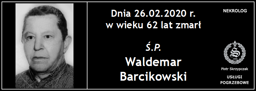 You are currently viewing Waldemar Barcikowski