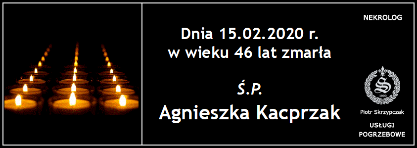 You are currently viewing Agnieszka Kacprzak