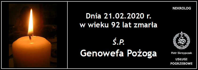 You are currently viewing Genowefa Pożoga