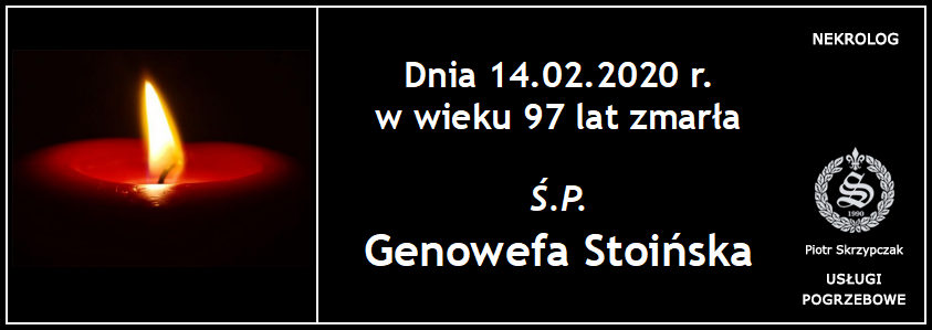 You are currently viewing Stoińska Genowefa