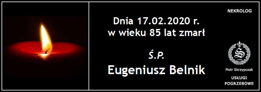 You are currently viewing Eugeniusz Belnik
