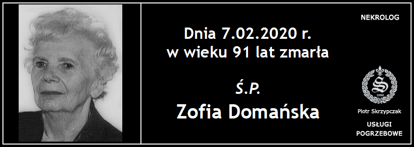 You are currently viewing Zofia Domańska