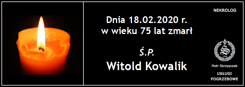 You are currently viewing Witold Kowalik