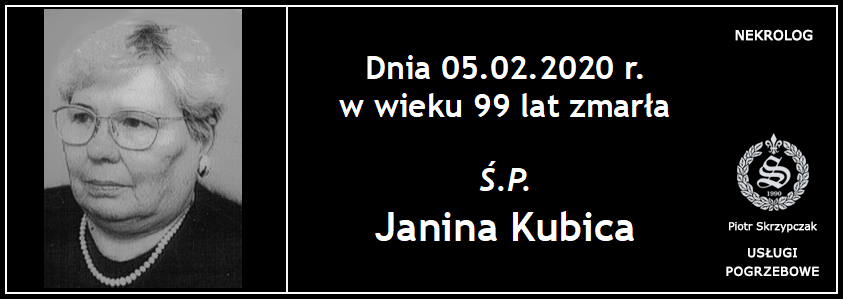 You are currently viewing Janina Kubica