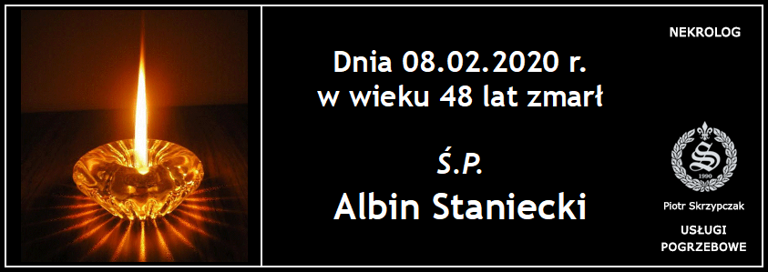 You are currently viewing Albin Staniecki