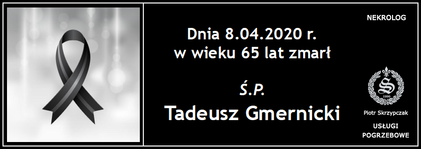 You are currently viewing Tadeusz Gmernicki