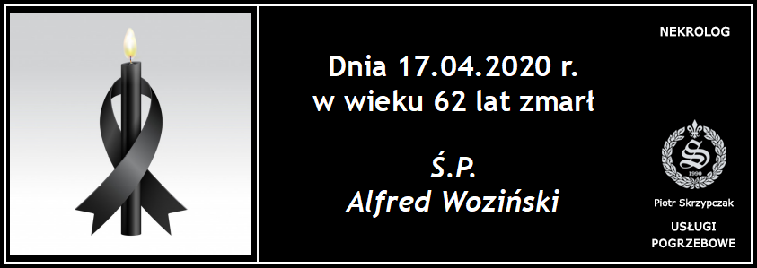 You are currently viewing Ś.P. Alfred Woziński