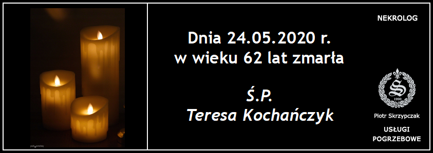 You are currently viewing Teresa Kochańczyk