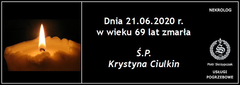 You are currently viewing Krystyna Ciulkin