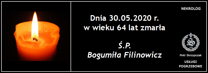 You are currently viewing Bogumiła Filinowicz