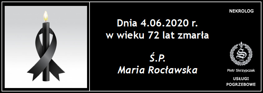 You are currently viewing Maria Rocławska