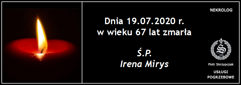 You are currently viewing Irena Mirys z domu Kaczor
