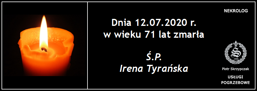 You are currently viewing Irena Tyrańska
